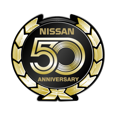 Nissan 50 Anniversary logo