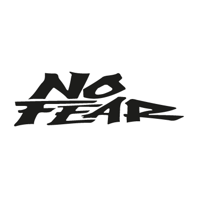 No Fear vector logo
