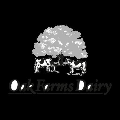 Oak Farms Dairy vector logo