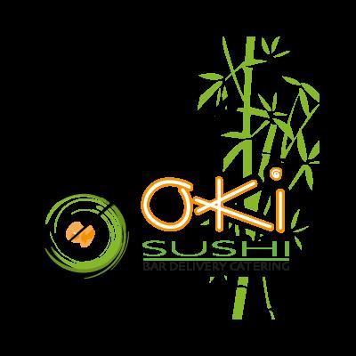 Oki Sushi vector logo