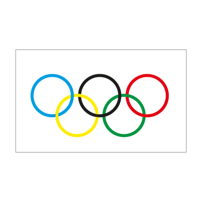 Olympic Flag logo