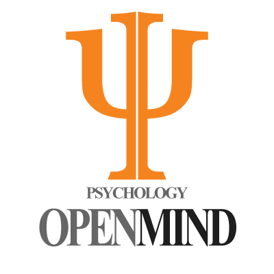 Online Psychology vector logo