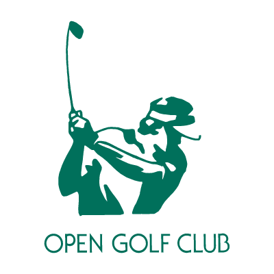 Open Golf Club vector logo