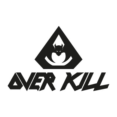 Overkill Band vector logo
