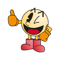 Pac-Man (character) vector free download
