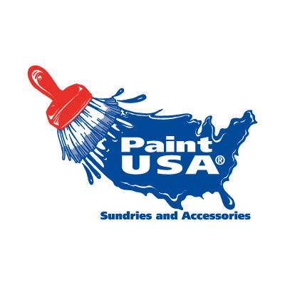 Paint USA vector logo