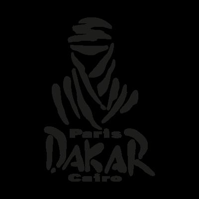 Paris Dakar Cairo vector logo