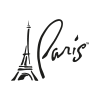 Paris, Las Vegas vector logo download free