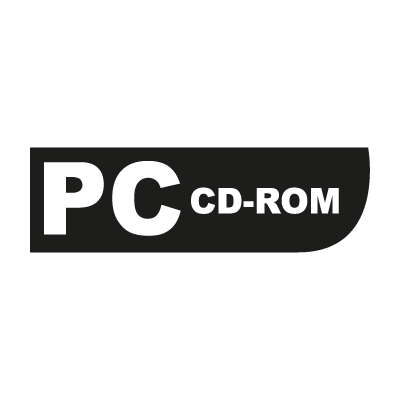 PC CD-ROM (game) vector logo
