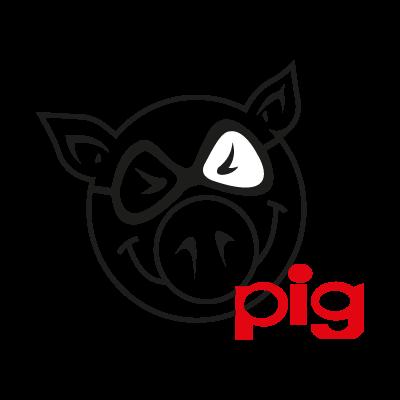 Pig vector logo