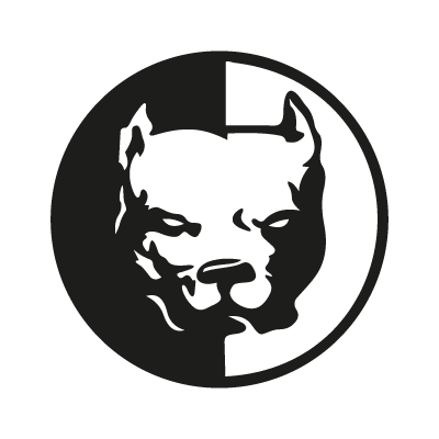 Pit bull vector logo