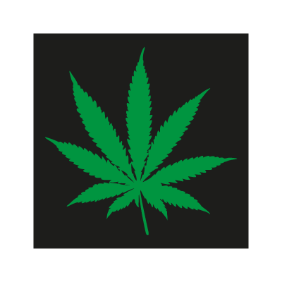Pot Leaf vector logo