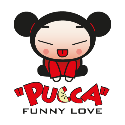 Pucca Funny Love vector