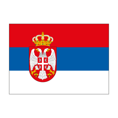 Flag of Serbia logo