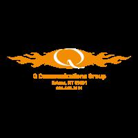 Q Communications vector logo free