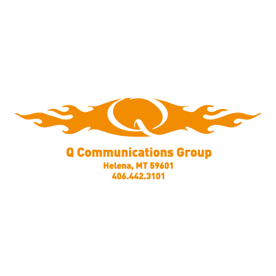 Q Communications vector logo