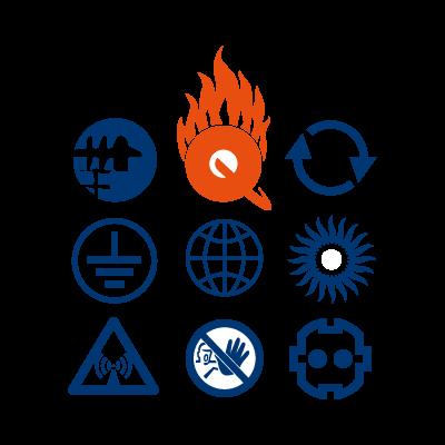 Q-Zar vector logo