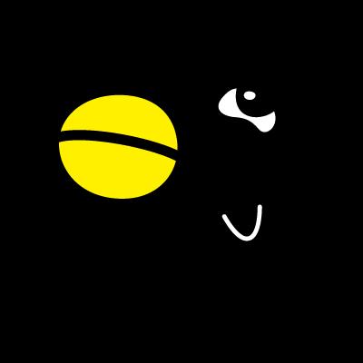 QR Karasuto-kun logo