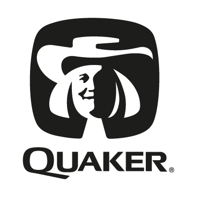 Quaker black vector logo