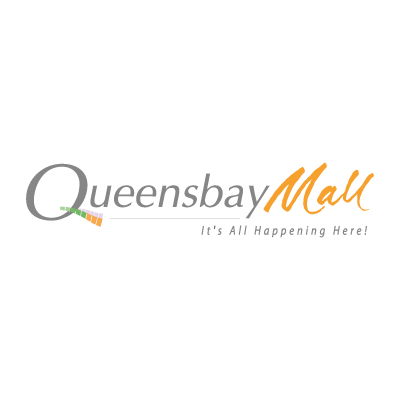 Queensbay Mall vector logo