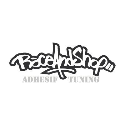 Race and shop logo