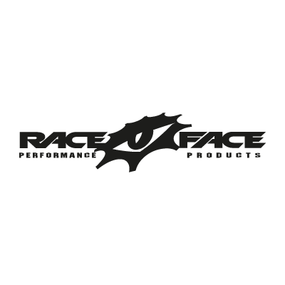 Race Face (black) vector logo