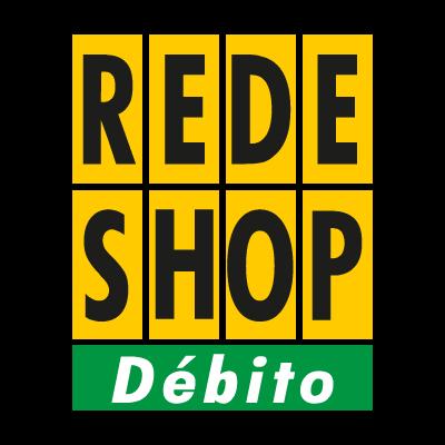 Rede Shop debito vector logo