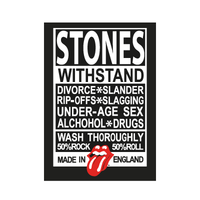 Rolling Stones Made in England vector logo