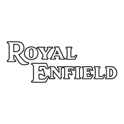Royal Enfield outline vector logo