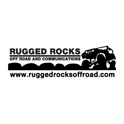 Rugged Rocks Off Road vector logo