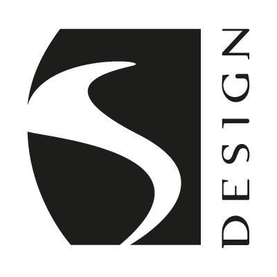S Design vector logo