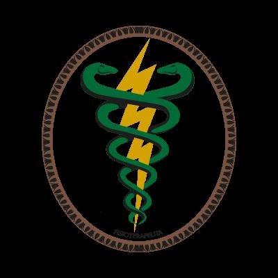 Simbolo Fisioterapia vector logo
