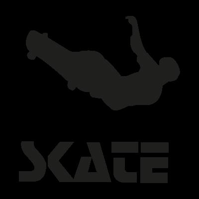 Skate vector logo