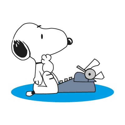 Snoopy character logo