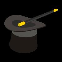 Sombrero de Mago vector free download