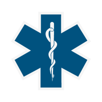 Star of Life vector logo free