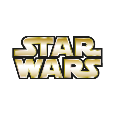 Star Wars Gold vector logo