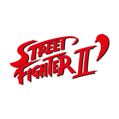 Street Fighter II vector logo
