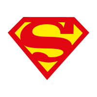 Superman char vector logo