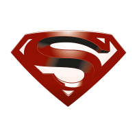 Superman return vector logo free download