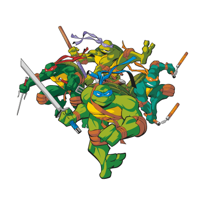 teenage mutant ninja turtles eps vector free download