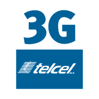 Telcel 3g vector logo free download