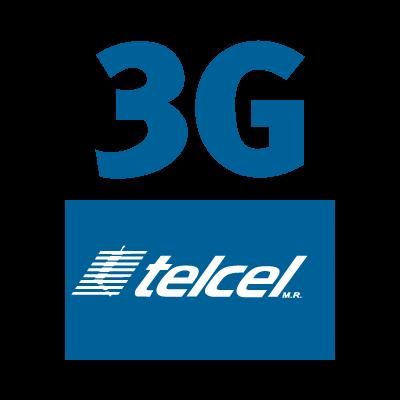 Telcel 3g vector logo
