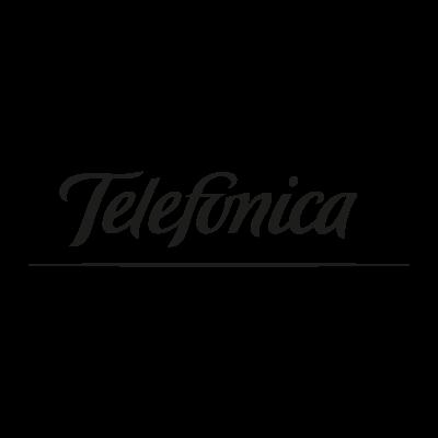 Telefonica black logo