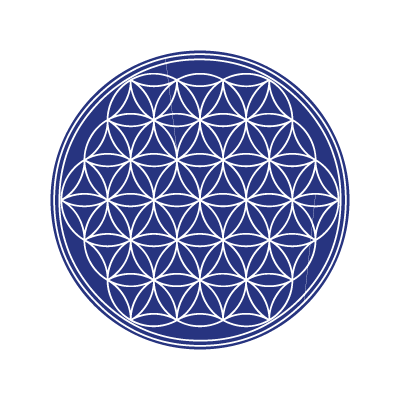 The flower of life logo