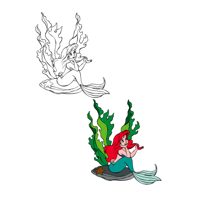 The little mermaid - Ariel logo