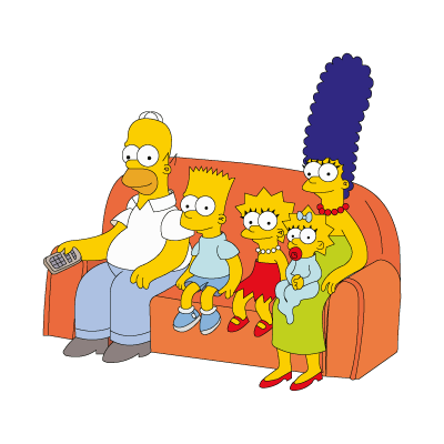 The Simpsons Family vector