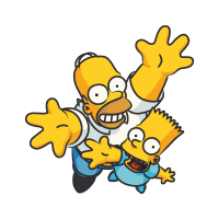 The Simpsons Homer vector logo free download