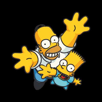 The Simpsons Homer logo