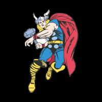 Thor Cartoon vector free download
